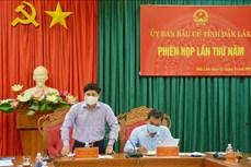 Bầu cử lại đại biểu Hội đồng nhân dân xã tại 3 đơn vị bầu cử của tỉnh Đắk Lắk
