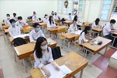 Hà Nội: Điều chỉnh hợp lý, bảo đảm sức khỏe cho thí sinh dự thi vào lớp 10 Trung học Phổ thông