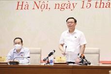 """Chủ tịch Quốc hội Vương Đình Huệ: Báo chí đưa """"hơi thở cuộc sống"""" vào nghị trường"""