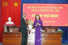 Bí thư Tỉnh ủy Bạc Liêu Lữ Văn Hùng trúng cử chức danh Chủ tịch HĐND tỉnh