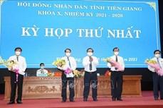 Tiền Giang: Lãnh đạo chủ chốt tỉnh được bầu với số phiếu tín nhiệm cao