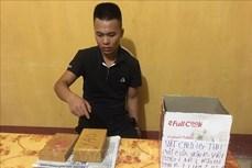 Cao Bằng bắt đối tượng vận chuyển ba bánh heroin