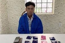 Bắt đối tượng Giàng A Lự mua bán ma túy tổng hợp