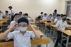 Kỳ thi tốt nghiệp THPT năm 2021: Thành phố Hồ Chí Minh ghi nhận thêm một số trường hợp liên quan đến COVID-19