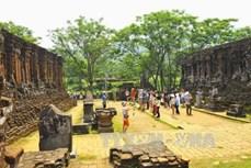 Nỗ lực hoàn thành trùng tu các hạng mục chính tại Di sản Văn hóa thế giới Mỹ Sơn trước mùa mưa