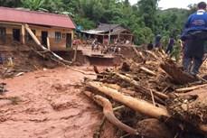 Điện Biên tập trung khắc phục hậu quả của mưa lũ