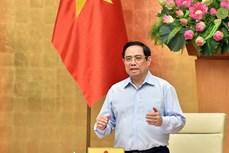 Kết luận của Thủ tướng Phạm Minh Chính tại Hội nghị trực tuyến triển khai Điện của Thường trực Ban Bí thư về công tác phòng, chống dịch COVID-19