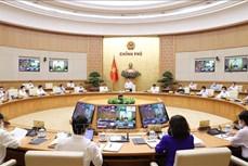 Nghị quyết phiên họp Chính phủ trực tuyến toàn quốc với các địa phương về tình hình kinh tế - xã hội