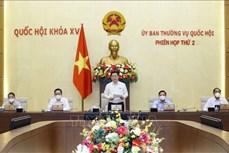 Bế mạc Phiên họp thứ hai, Ủy ban Thường vụ Quốc hội
