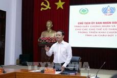 Gỡ khó thực hiện các nghị quyết trong lĩnh vực nông nghiệp tại Lai Châu