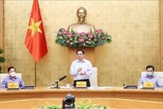 Thủ tướng Chính phủ Phạm Minh Chính: Ngăn chặn, đẩy lùi dịch bệnh nhanh nhất, hiệu quả nhất có thể, thực hiện mục tiêu kép