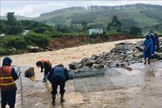 Kon Tum khẩn trương khắc phục thiệt hại do bão số 5 gây ra