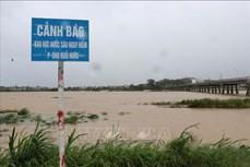 Hàng trăm nhà dân bị ngập nước do mưa lũ ở Quảng Ngãi