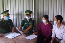 Tăng cường 79 chiến sỹ để chống dịch COVID-19 ở biên giới Hà Giang
