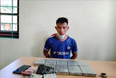 Điện Biên: Bắt giữ đối tượng mua bán trái phép 9 bánh heroin