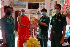 Thăm, tặng quà một số điểm chùa ở Sóc Trăng nhân dịp lễ Sene Dolta