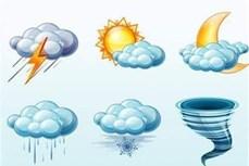 Thời tiết ngày 10/10/2021: Mưa nhiều nơi do ảnh hưởng của không khí lạnh kết hợp hoàn lưu bão số 7