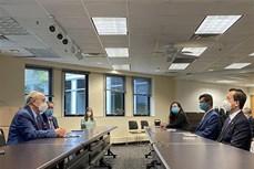 新冠肺炎疫情:越南驻美大使馆向马里兰州捐赠1万只口罩
