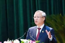 迎接党的十三大:陈国旺出席越共宁平省第22次代表大会