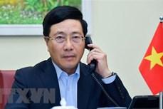 范平明与芬兰外长佩卡·哈维斯托通电话