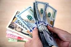 25日上午越盾对美元汇率中间价继续上调10越盾