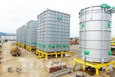越南斗山重工业有限公司2021年向泰国出口首批炼油设备