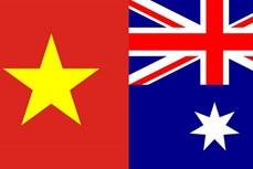 越南领导人就澳大利亚国庆233周年向澳大利亚领导人致贺电
