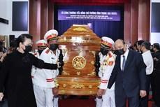 原政府副总理张永仲追悼会和安葬仪式在槟椥省举行
