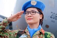 赴南苏丹执行维和任务的越南女医生