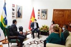 越南与委内瑞拉促进农业领域的合作