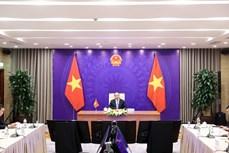越老柬三国领导人举行视频会谈