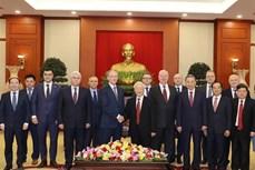 越共中央总书记、国家主席阮富仲会见俄罗斯联邦国家安全委员会秘书