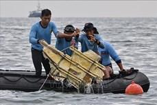 印尼SJ182客机坠毁事故:第二个黑匣子已找到