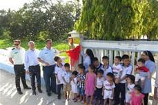 加拿大驻越南大使馆举行设在庆和省的慈善工程竣工仪式