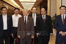 各国领导人向越南新当选领导人致贺信和贺电