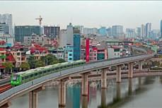 河内城市铁路吉灵-河东线预计于4月30日投入商业运行