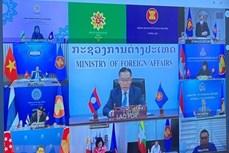 确保东盟的中心作用和东盟的对外交往关系