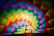 越南热气球摄影作品跻身美国著名杂志最佳摄影作品行列