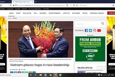 南非《比勒陀利亚新闻报》:越南人对新领导班子给予厚望