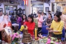 柬老缅泰等国传统新年庆祝活动在胡志明市举行