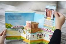 《河内千年记忆》立体书展现生机勃勃的首都风貌