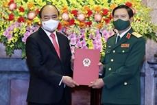 阮新疆上将担任越南人民军总参谋长一职