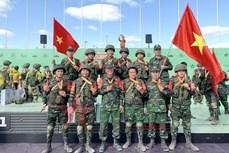 2021年国际军事比赛:越南人民军参赛队在各场比赛中表现出色