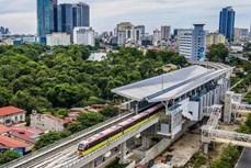 """河内市""""呠—河内站""""段自动取票机系统中各设备抵达越南"""