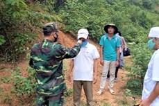 广宁省向中国移交一非法入境和滞留越南的通缉犯
