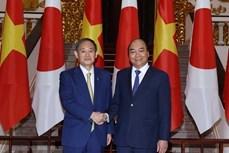 越南国家主席阮春福与日本首相菅义伟将于9月15日下午举行会谈