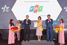 FPT 在越南信息技术企业 10 强活动中获得大胜