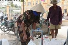 Tiền Giang: Nhiều giải pháp cấp nước sinh hoạt phục vụ nhân dân vùng hạn mặn