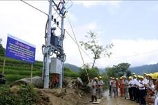 Lào Cai: Đưa điện lưới quốc gia tới 128 hộ dân thuộc các xã khó khăn
