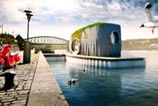 Độc đáo nhà nổi bằng công nghệ in 3D tại CH Séc